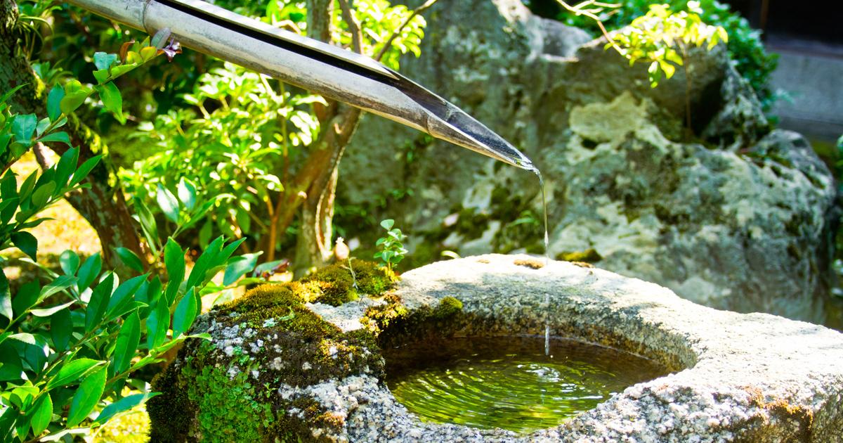 日本古来の、体の疲れを取り、心に安らぎをもたらす祈り