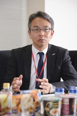 ポッカサッポロフード&ビバレッジ  食品ブランド戦略部スープ・食品グループ課長代理 小川東吾さん