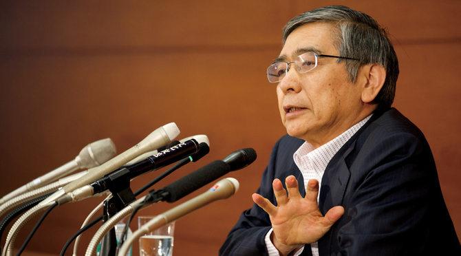黒田東彦総裁