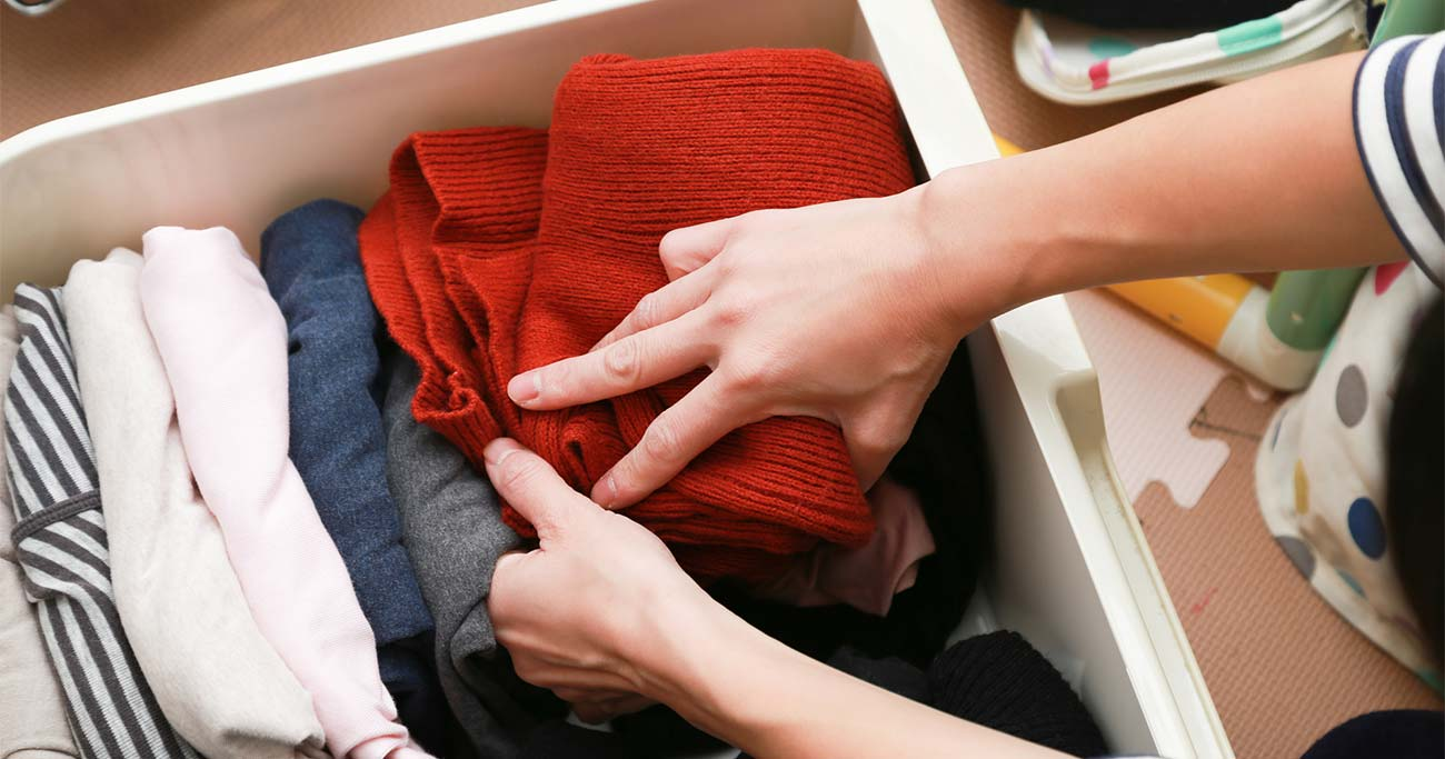 衣替えが一気にラクになる整理収納3つのコツ