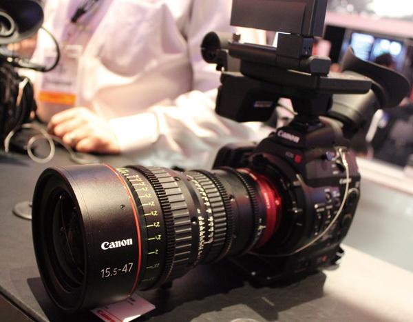 キヤノンの業務用ビデオカメラ<br />英BBC納入で狙う次の一手