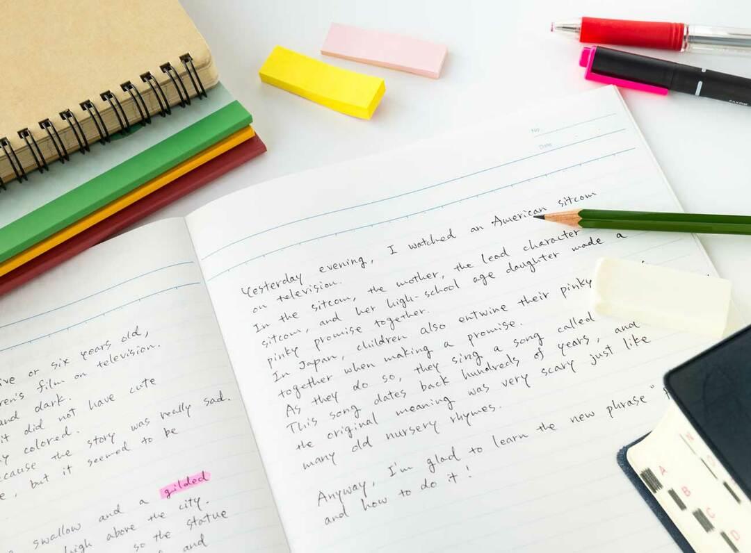 英語学習のイメージ