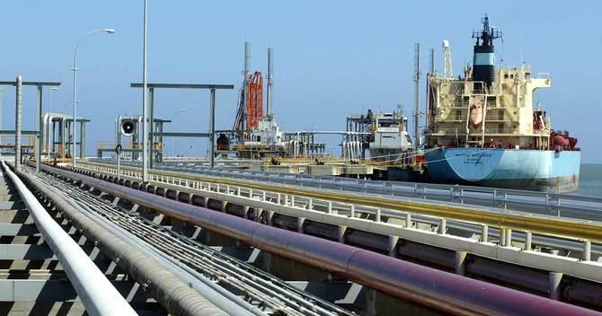 ベネズエラ・ホセの原油ターミナル