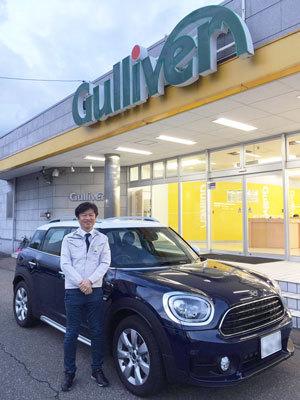 2018年10月末、ガリバー8号福井板垣店でのミニクロスオーバーと初対面