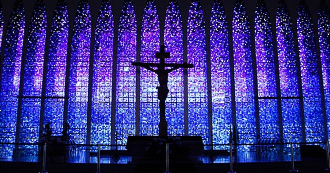 ブラジルの首都、ブラジリアにあるドン・ボスコ聖堂
