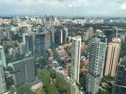 シンガポールのビル群