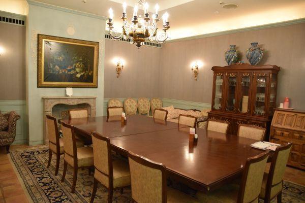 サンリオピューロランドの「特別室」の内部