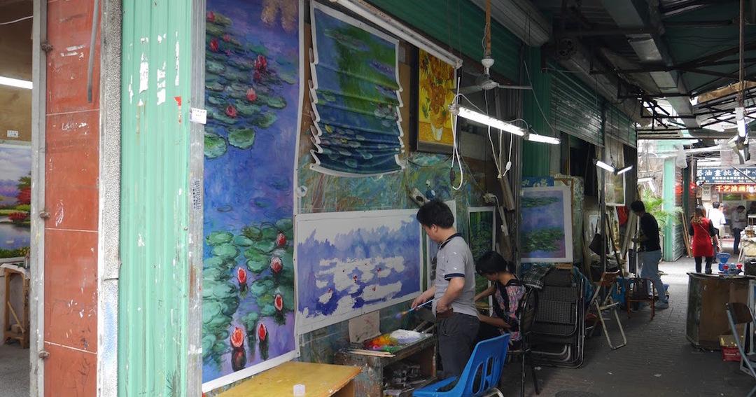 8000人の画家が住む深センの絵画村が年700億円を稼ぐ理由