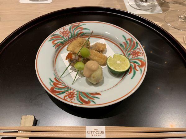 松茸のフライ
