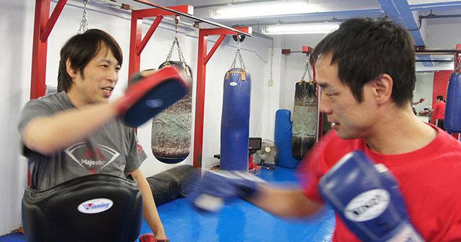 キックボクシングは全身運動だ