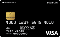 [クレジットカード・オブ・ザ・イヤー2017]ニューカマー部門インヴァストカードの公式サイトはこちら