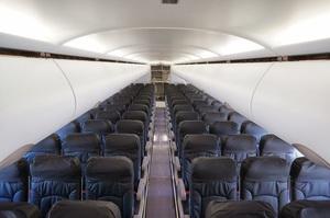 バニラエアの機内