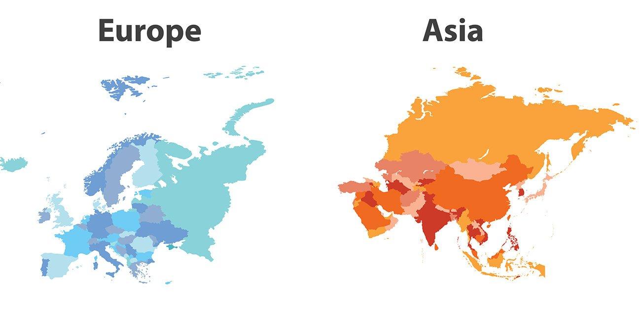 少ない アジア コロナ
