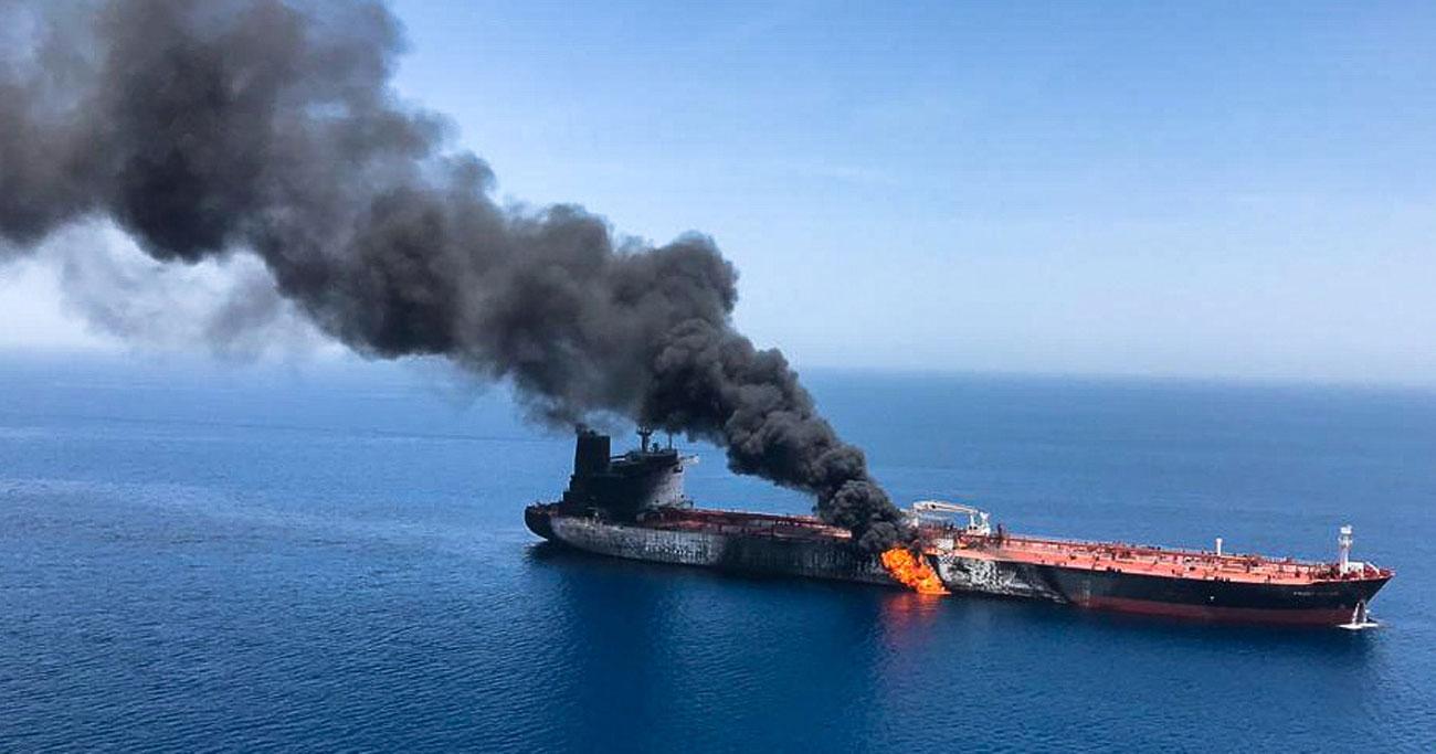ホルムズのタンカー攻撃、イラン関与なら危険な賭け