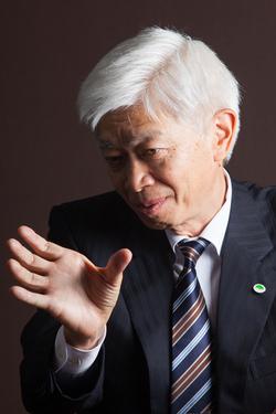 日立建機社長 辻本雄一 <br />グローバル企業に見合う体質転換を図る