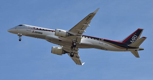 開発が遅れる国産初のジェット旅客機「三菱リージョナルジェット(MRJ)」