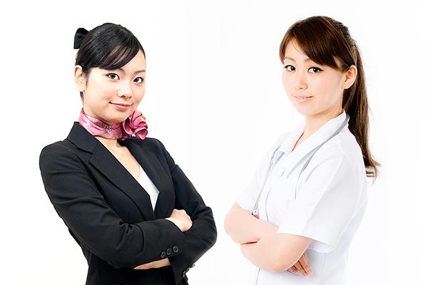 看護師対CA、婚活市場2大「気の強い女」対決の勝者は?