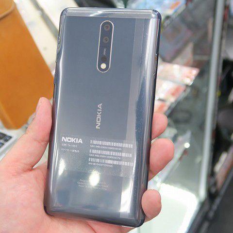 ライブ配信向けデュアルサイトカメラ搭載! Nokia最新スマホ「Nokia 8」登場