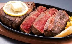 極厚の 「レンガステーキ」がもらえる「福岡県直方市」