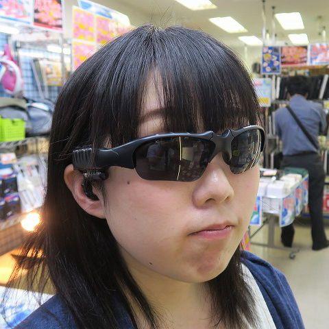 Bluetoothイヤホンが合体! 音楽が聴けるスポーティーなサングラス