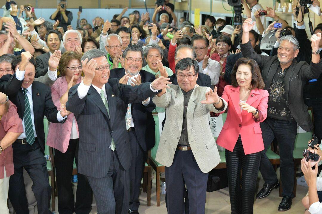 辺野古移設反対派の沖縄県知事が誕生 <br />それでも民意を無視する日本の民主主義とは<br />――沖縄タイムス記者 福元大輔