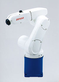 デンソーの小型垂直多関節ロボット