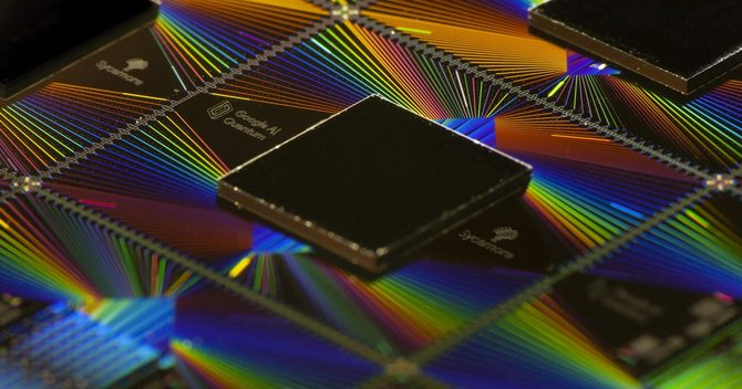 米グーグルの量子コンピューターで使われた半導体