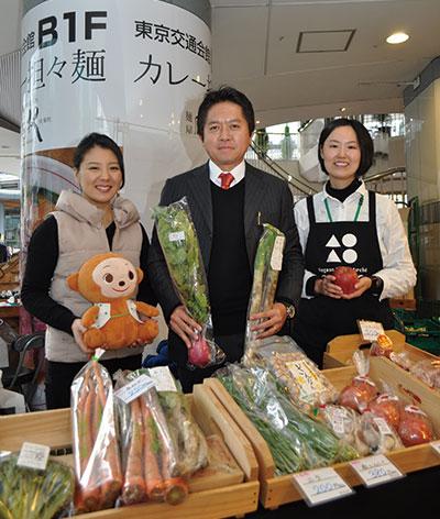 銀座に「田んぼ」を作った男が描く農産物直売所の未来
