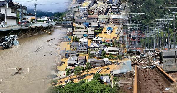 痛ましい犠牲を伴った西日本豪雨