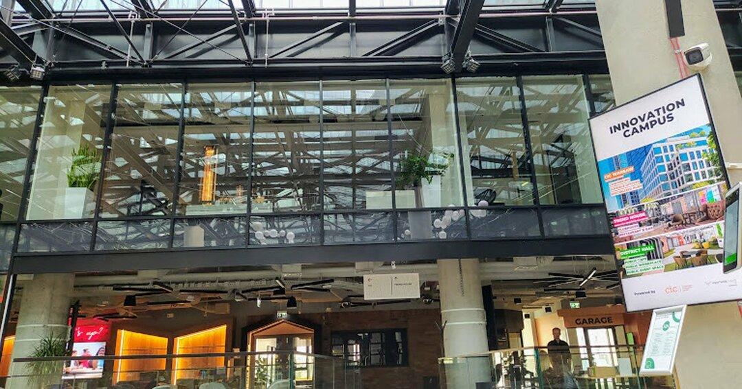 イノベーション・キャンパスはCIC Warsaw、District Hall、Trend Houseの3つで構成される
