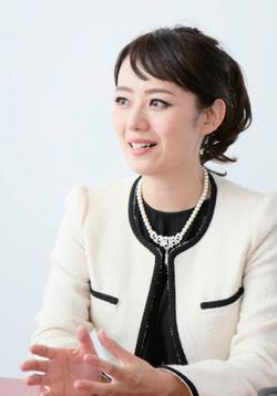 三井智映子(みつい・ちえこ)さん写真