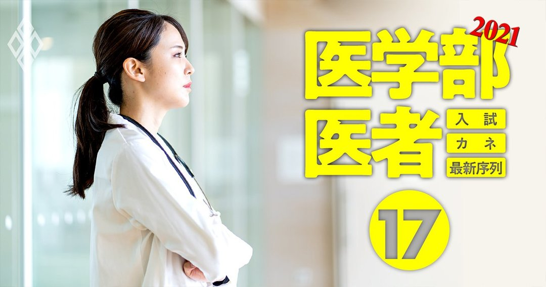 医学部&医者2021入試・カネ・最新序列#17