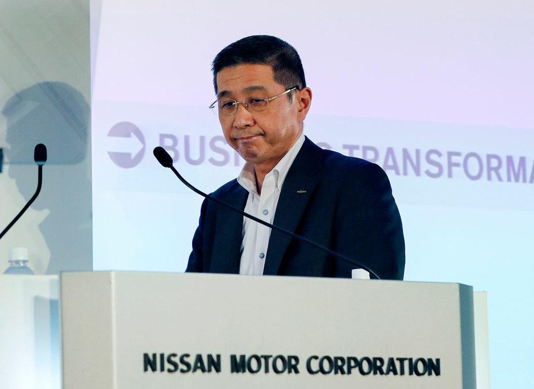 トヨタと日産の決算は、明暗がくっきりと分かれた。写真は日産自動車の西川広人社長