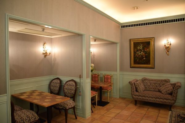 「館のレストラン」の特別室の内部