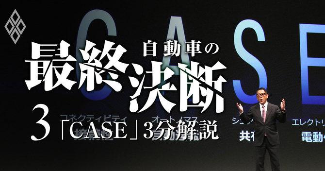 自動車の最終決断3 「CASE」3分解説