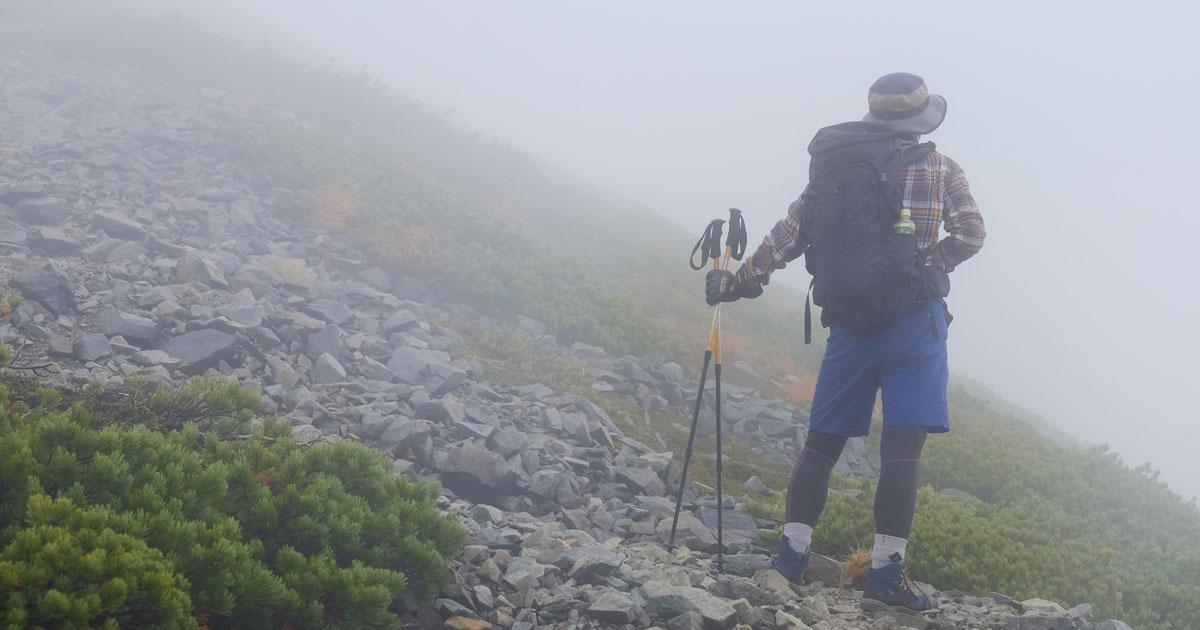 夏山登山でも防寒装備を絶対に怠ってはいけない理由