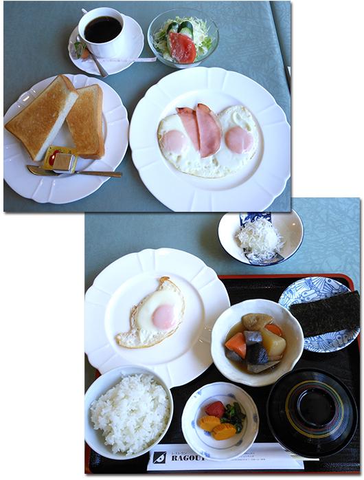 働き者の親子が営む人形町の洋食屋で、<br />ステーキの朝食を