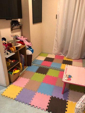 今年から発達障害のお子さん、出産後の赤ちゃんへの授乳もできるよう個室をつくった。プレイスペースもある