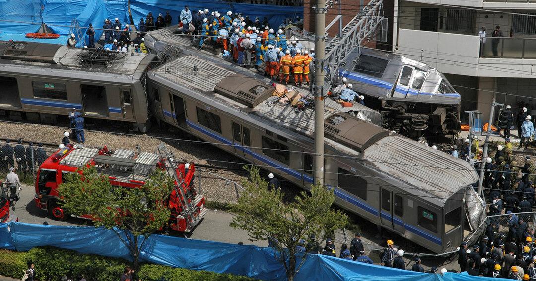 JR福知山線脱線事故(2005年4月25日)