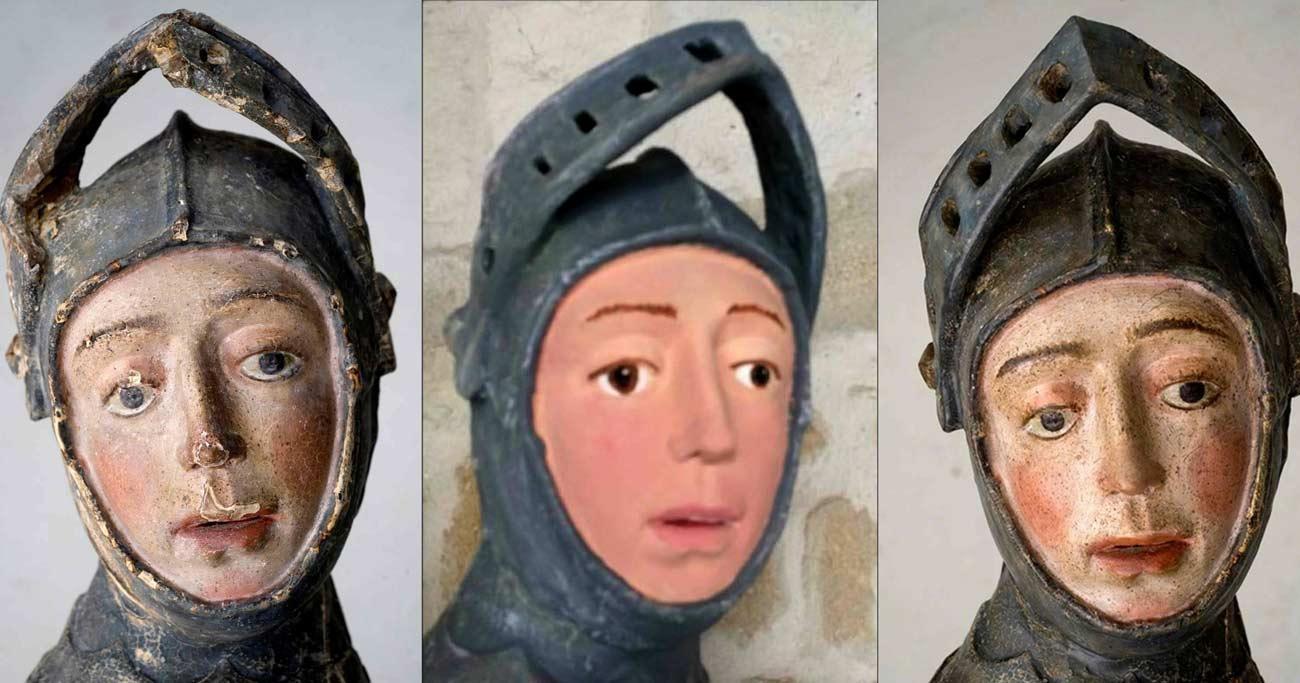 修復で漫画のようになってしまったスペイン聖像は「現代アート」か