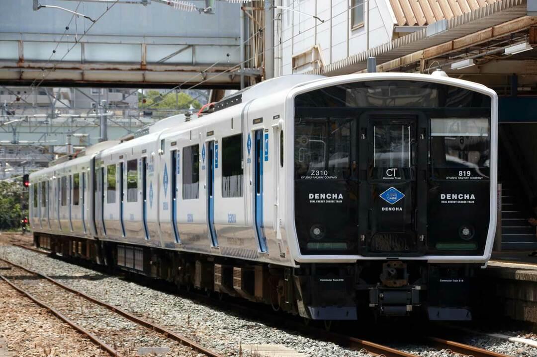 香椎線の列車
