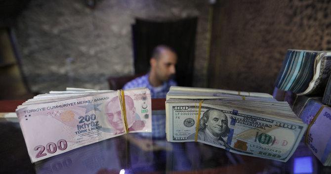 シリアのアザズにある両替商