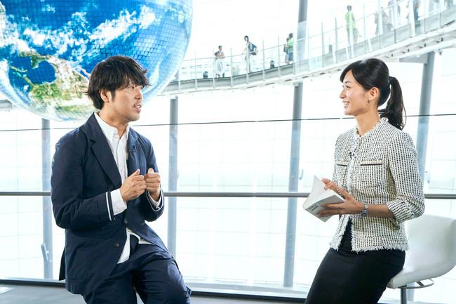 「ワールドビジネスサテライト」<br />大江麻理子キャスターが<br />『理系に学ぶ。』に切り込む!<br />いま、「理系」がおもしろい。