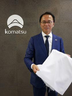 小松マテーレの池田哲夫代表取締役社長