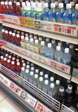 夏の飲料市場に新分野が誕生<br />熱中症対策飲料が販売急増中