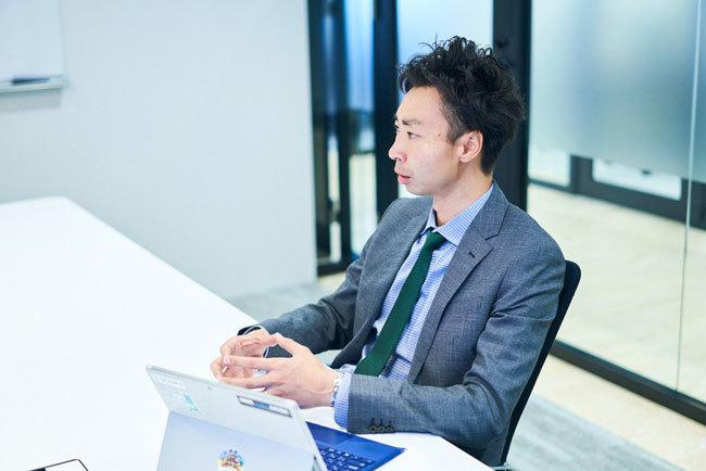 高度専門人材市場の現状について語る嶋﨑真太郎氏