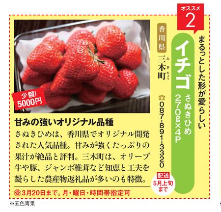 三木町のイチゴ