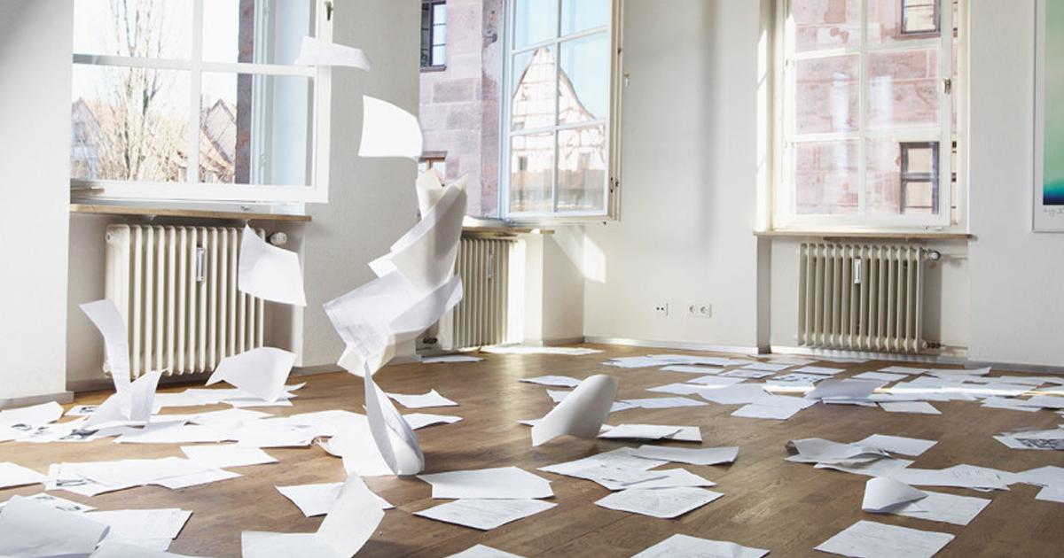 オフィスの空気が淀んでいると仕事の生産性が低下する