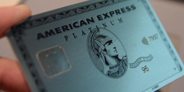 「アメリカン・エキスプレス・プラチナ・カード」のメタルカード