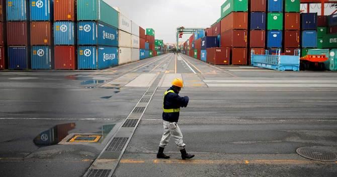輸出企業ベア伸びず